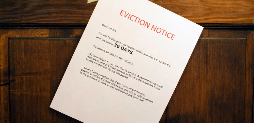 Eviction Basics For Landlords Part Iii The  Day Eviction Notice