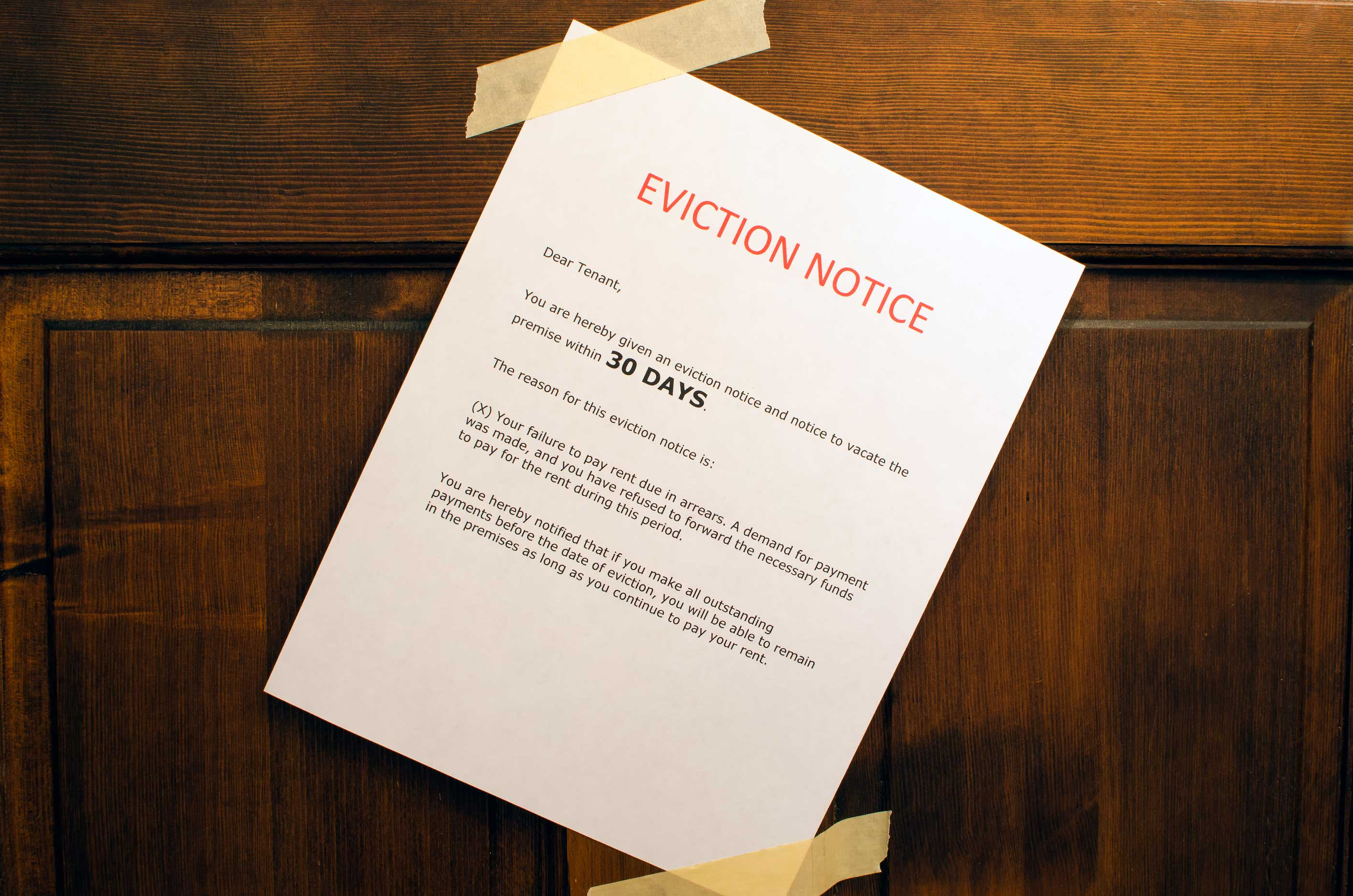 eviction basics for landlords part iii  the 30 day